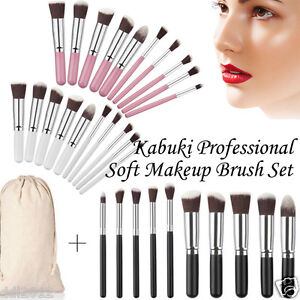 10PCS-Kabuki-Professional-Soft-Makeup-Brush-Set-Blusher-Contour-Make-Up-Brushes