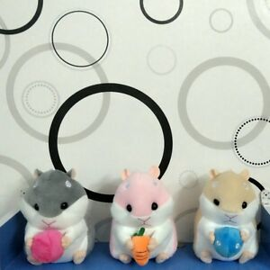 New Cute Hamster Soft Plush Toys Stuffed Animal Baby Kids Gift Animals Doll