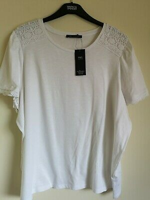 PINK MIX STRETCH TOP SIZE 18 FROM M/&S BNWT FREE P/&P