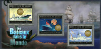 Guinea 2012 MNH Ships of World II 3v M/S RMS Colossus Titanic Boats Stamps