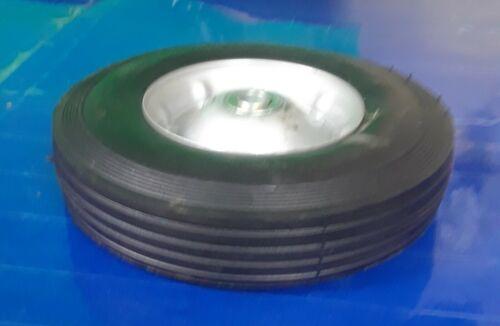 "New Martin Wheel 10/"" Diameter Rib Tread Rubber Wheel 2 3//4/"" Wide ZP1102GW-2C1"