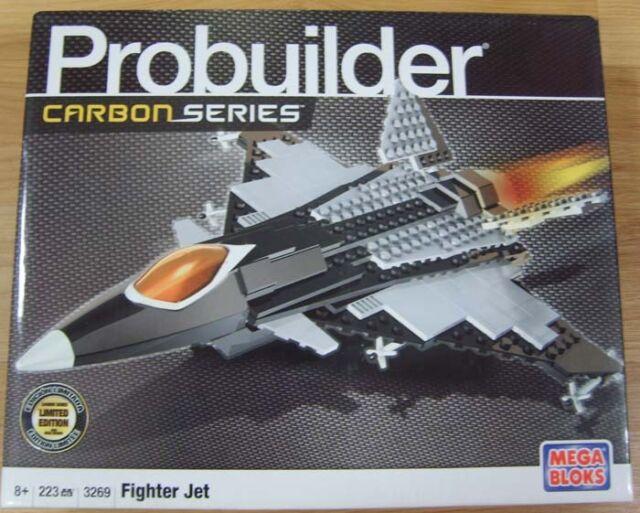 Mega Bloks Probuilder  ASSAULT CHOPPER #3271 Carbon Series 420pcs