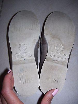 Damen Schuhe Mokassin Slipper Gr.7W (38)von Timberland echtes Leder grau
