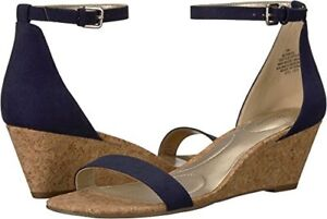 6f454b75685 Details about Bandolino Womens Omira Wedge Sandal- Select SZ/Color.