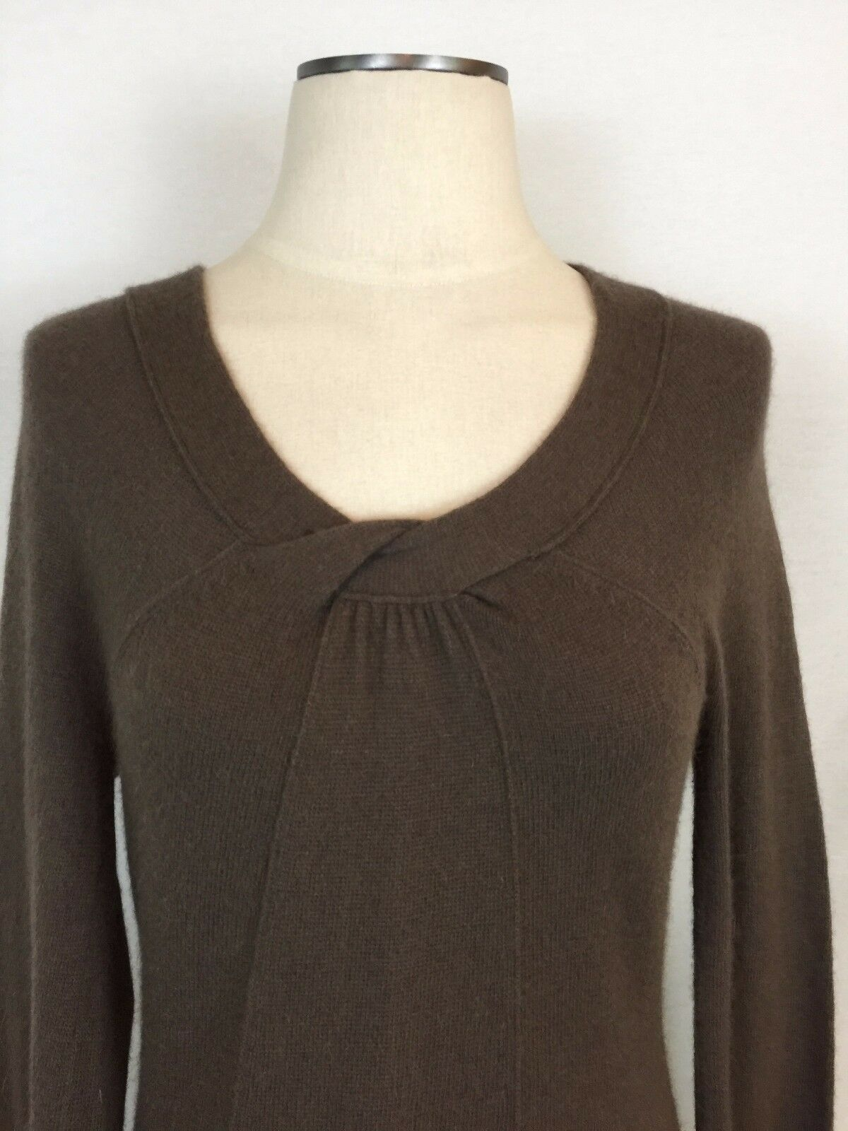 7d414b740243ea ... ANTHROPOLOGIE SPARROW S SWEATER LIGHT BROWN LONG FLARE FLARE FLARE  SLEEVES ANGORA BLEND PRET a36ea7 ...