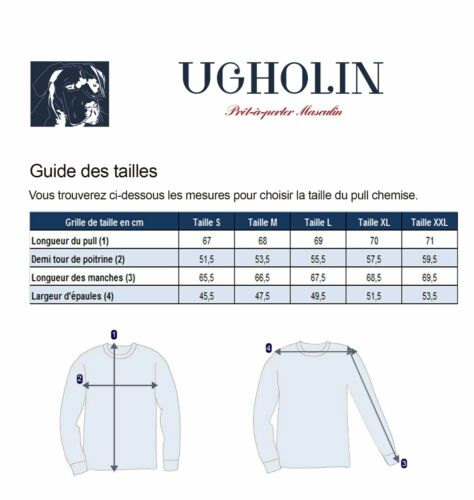 Col V Homme Longues 1 2 En Ugholin Pull Manches Chemise tBqgSaw