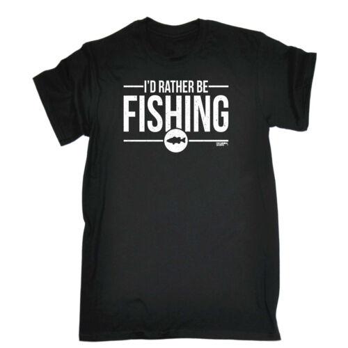 Id Rather Be Fishing Fishing Kids Childrens T-Shirt Funny tee TShirt