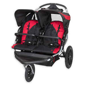 NEW Baby Trend Navigator Double Jogging Stroller fit Car ...