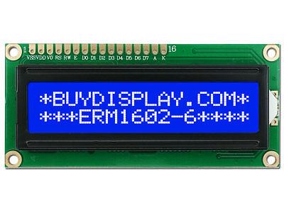 Lcm Yellow Backlight Lcd Display Module 1602 16X2 HD44780 Character New Ic ff