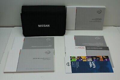 CASE ALL 2018 Nissan Pathfinder Owner/'s Guide Operator User Manual COMPLETE SET