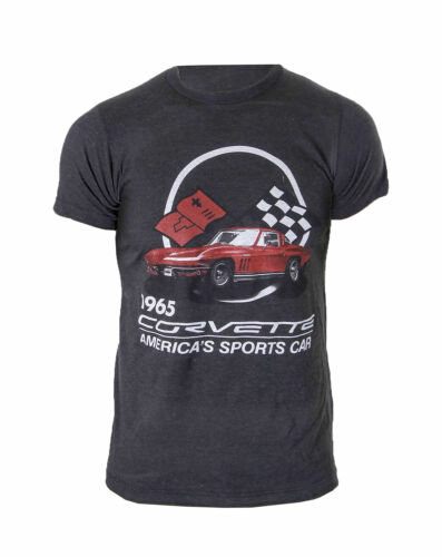 GM Chevrolet Corvette Americas Sports Car Heather T-Shirt