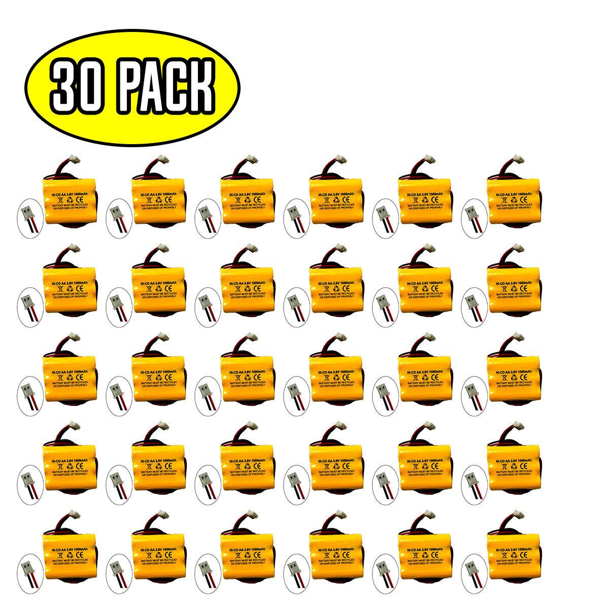 (30 pack) 3.6v 1000mah Ni-Cd battery for emergency / exit light