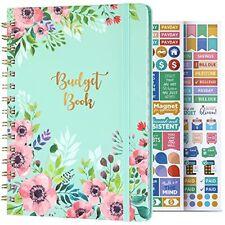 Budget Planner Budget Book Undated Monthly Bill Organizer With Pockets Notebook