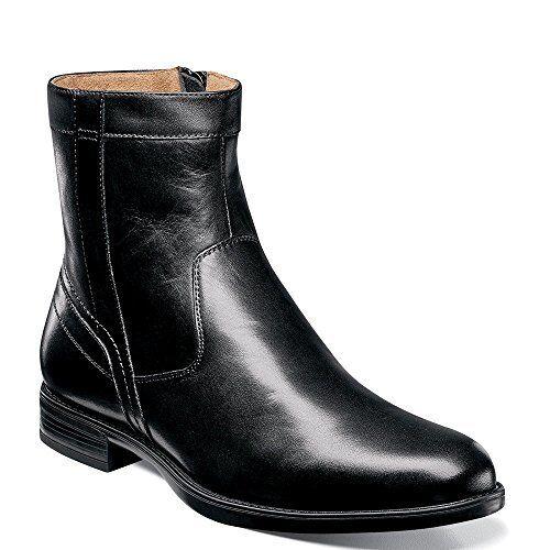 FLORSHEIM Florsheim Mens Midtown Plain Toe Zip Boot- Pick SZ color.