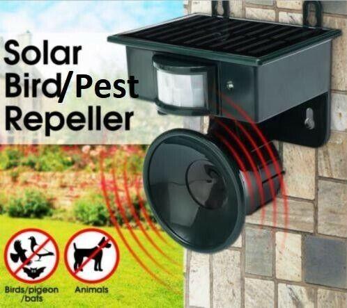 Solar Motion Bird/pest Repeller