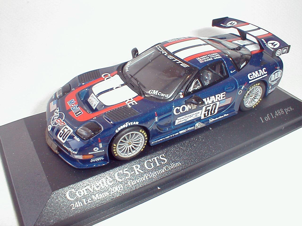 Minichamps 1 43 Chevrolet Chevrolet Chevrolet Corvette C5-R GTS  50 Le Mans 2003 6fe1cb
