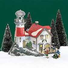 Dept 56 New England Village Series Pigeonhead Lighthouse #56537