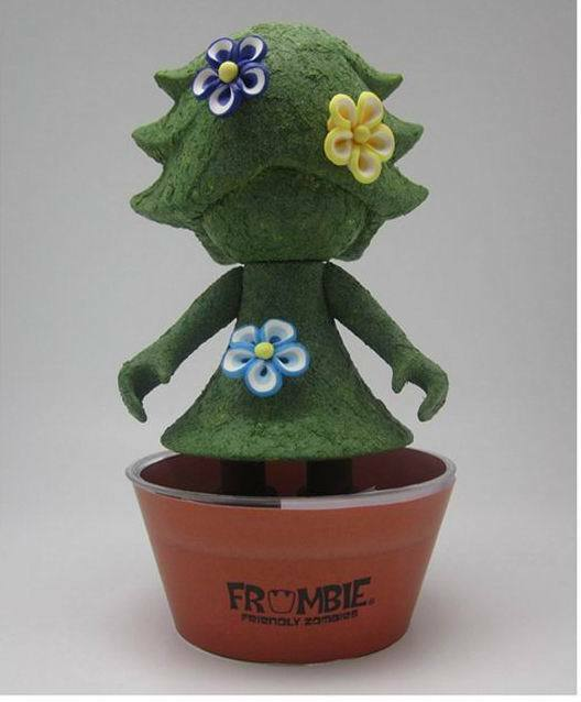 PLANT ZORA - 6  Vinyl Figure - Holy Wong - Frombie Friendly Zombies 5 pc limited