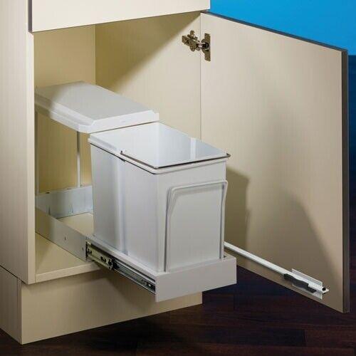NABER Abfallsorter 15 Liter CLAX® 1 plus 300-1 inkl. Mitnehmer, ab 40 cm Schrank