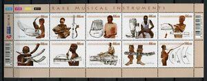 SUDAFRIKA-SOUTH-AFRICA-2011-Musik-Folklore-Music-Kleinbogen-MNH