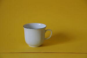 Ingres Weiss Form Marienbad Rote Raute Kaffeetasse mit Untertasse Tasse Untere