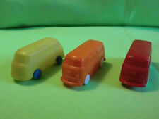 3 x  UNVERGLAST  1:87  - OLD  VW BUS  - VINTAGE  - RARE SELTEN IN GOOD CONDITION