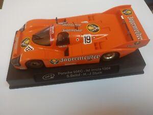 Porsche 956c Vainqueur Imola 84 Jagermeister Deco, slot.it.difícil, difficile à trouver.