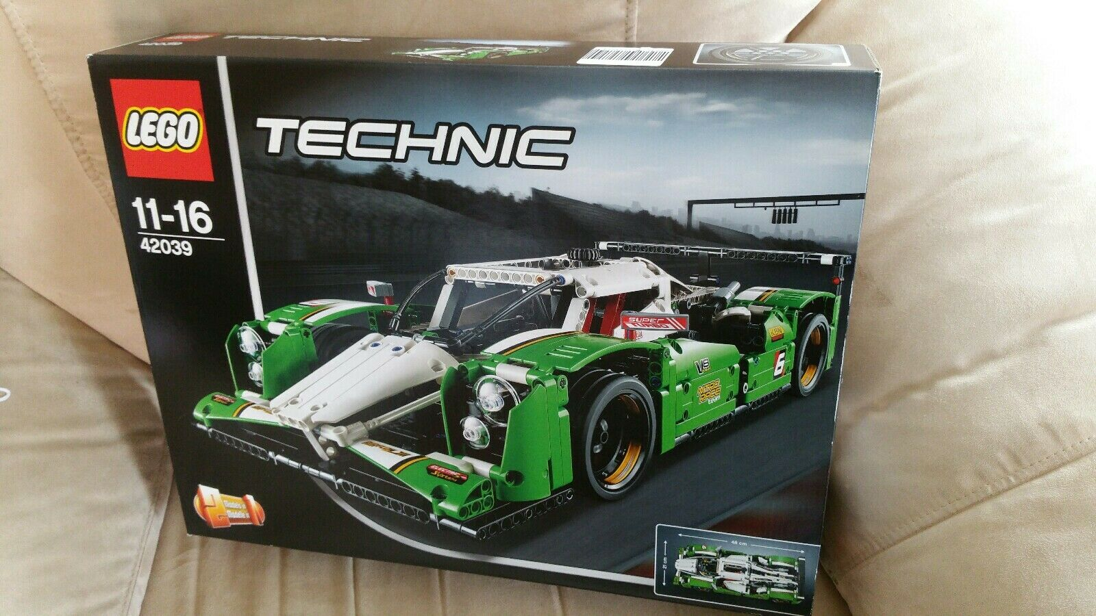 LEGO  Technic 42039 lungo raggio-auto da corsa  ecco l'ultimo