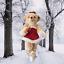 thumbnail 2 - Annette-Funicello-Let-It-Snow-Ballerina-Bear-15-034-Scrapbook-Bears-Collection