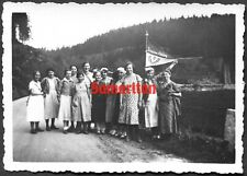 F11 Ww2 Original Photo Of German Wehrmacht Bdm League Of German Girls