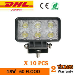 10X-18W-LED-Work-Light-Headlight-Flood-Offroad-Car-Jeep-Truck-Tractor-12V-24V
