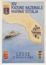 XIV RADUNO NAZIONALE MARINAI D'ITALIA - LECCE 12/5/1996
