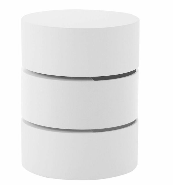 Couchtisch Pural Tisch Weiß Matt Lackiert Umfang 40 Cm Günstig