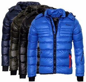 best website 48258 78f83 Details zu Geographical Norway Herren Winter Jacke Steppjacke Bomberjacke  parka übergangs