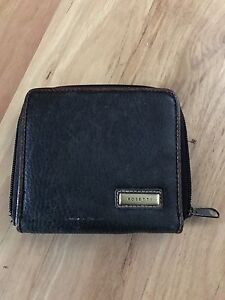 Lovely-Brown-Zipped-Wallet-Purse-By-Rosetti-11cm-X-12cm-Cheap