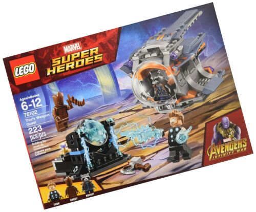 Infinity War Thor's Weapon Quest 76102 Bui... LEGO Marvel Super Heroes Avengers