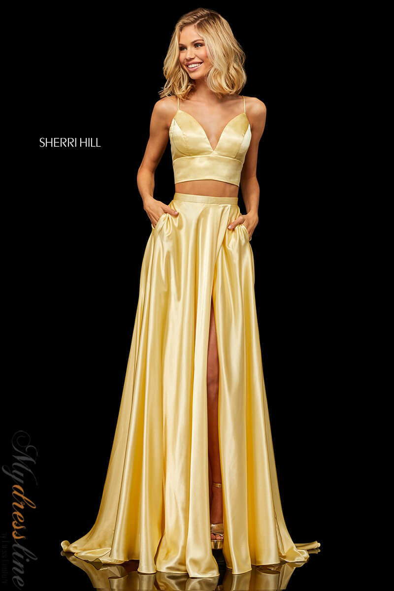 Sherri Hill 52488 Long Evening Dress LOWEST PRICE GUARANTEE NEW NEW NEW Authentic Gown cf2db8