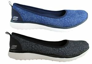 NEW-SKECHERS-MICROBURST-HYPED-UP-WOMENS-COMFORTABLE-MEMORY-FOAM-FLATS