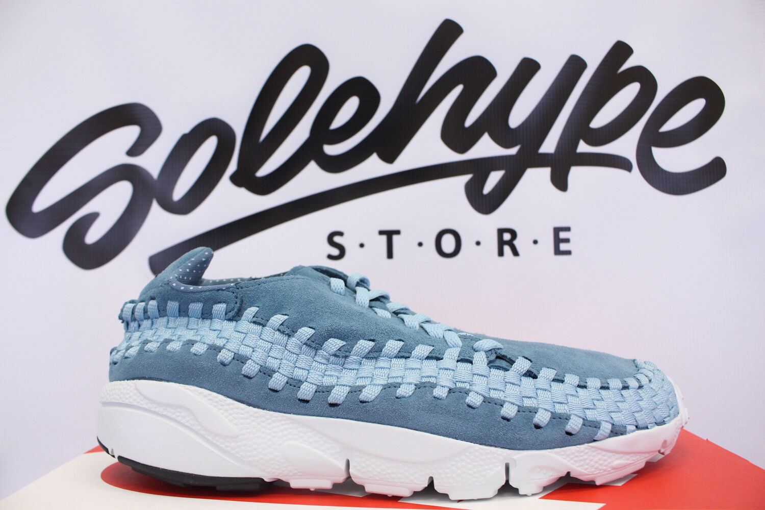 NIKE AIR FOOTSCAPE WOVEN NM SMOKEY BLUE 875797 002 SZ 10