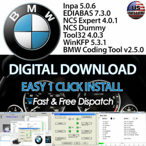 Details about BMW / Mini Diagnostic, Coding , and Programming Software  (FREE INSTALL SUPPORT)