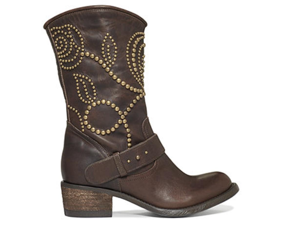 New GUESS Women's Esperanz Leather  Booties shoes. 8 8 8 f3d489
