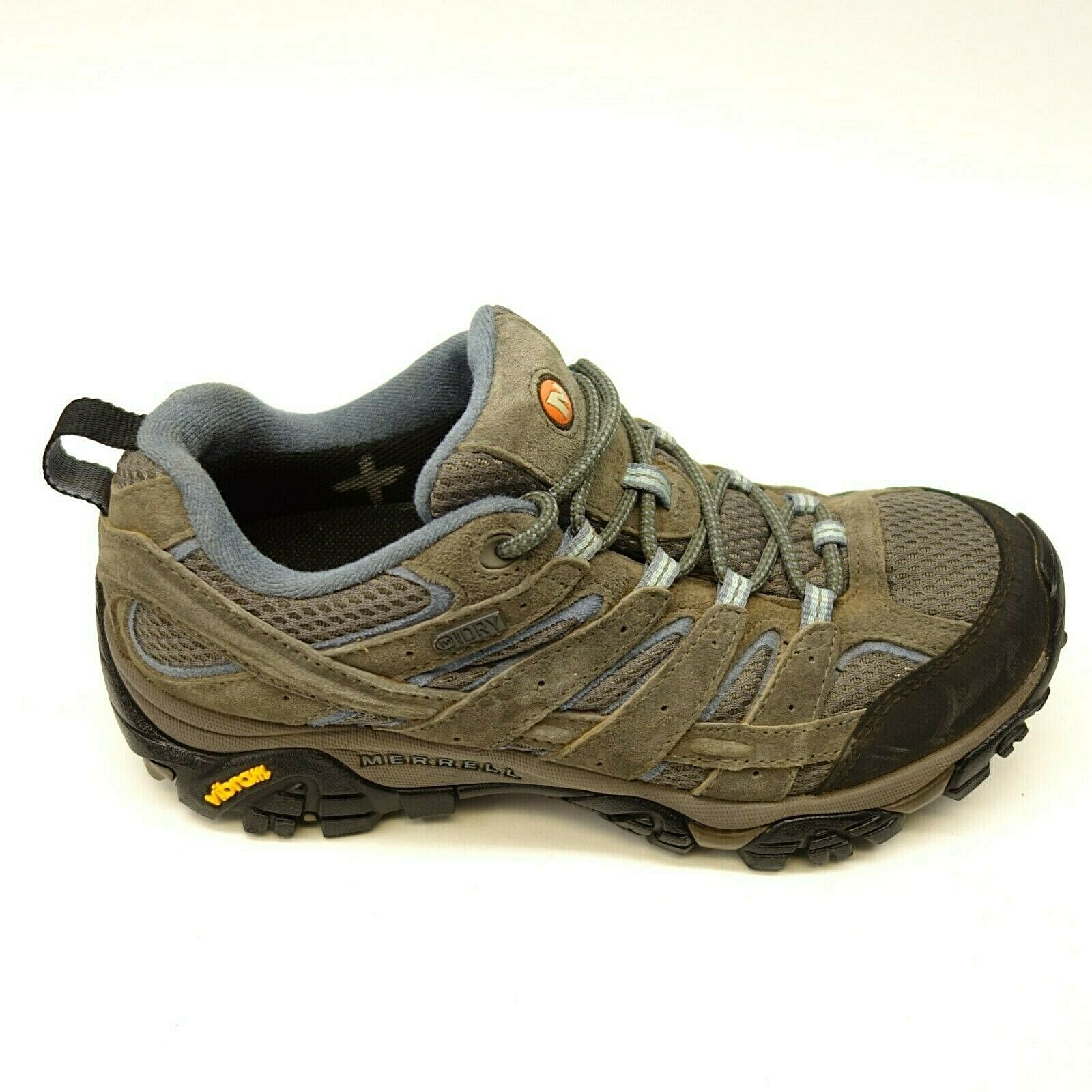 Merrell Moab 2 Low US 8 Eu 38,5 Wandern Wp Granit Grau Damen Stiefel
