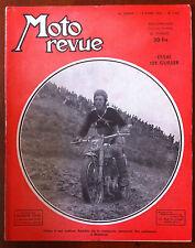 Moto Revue du 12/04/1952; Essai 125 Guiller/ Gilbert Brassine/ Casque Geno