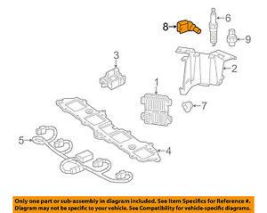 New OEM Replacement Crankshaft Position Sensor OEM# 12585546 2133520