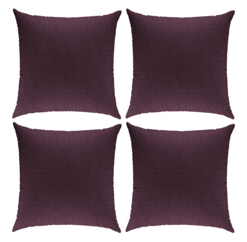 1 Pcs Cushion Cover in Linen Look Cushion Cover Decorative Cushion Bed Pillow 50x50cm
