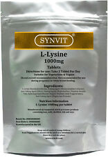 SYNVIT® L-Lysine High Strength 1000mg tablet - Cold Sore