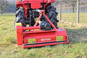 Details about WCF85 - Winton Compact Flail Mower - 0 85m Wide - For Compact  Tractors