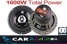"6.5"" 17cm New 2 way car audio door shelf speakers pair 1600W Top quality sound"