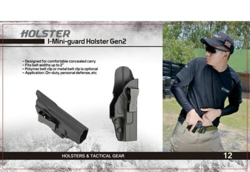 CYTAC Inside the Waistband HolsterConcealed Carry IWB HolsterFits GLOCK 42