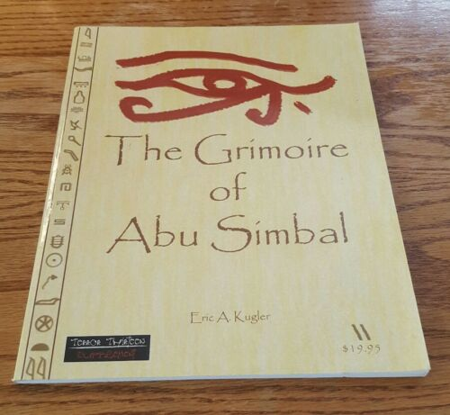 The Grimoire Of Abu Simbal Terror Thirteen supplement roleplaying game book 13